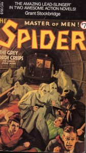 The Spider #7--decpetive cover