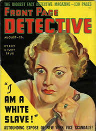 Front Page Detective magazine