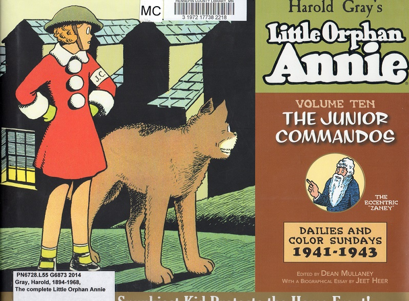 Little Orphan Annie Best Lines: Comic Strip Review: The Complete Little Orphan Annie