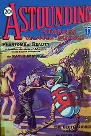 That first issue of Astounding.