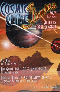 Cosmic Crime Stories July 2012