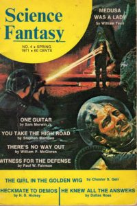 Science Fantasy #4 Spring 1971