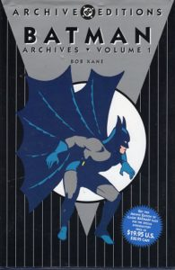 Batman Archives Volume 1