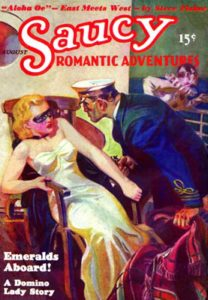 Saucy Romantic Adventures August 1936